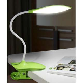 USB LED Table Desk Lamp Office Study Reading Light Rechargeable Eye Protection Night Adjustable