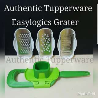 Authentic Tupperware  Easylogics Grater (1) Retail Price S$89.50 Now S$80.00 square tup