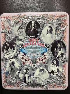 Girls Generation The Boys Metal Box Album (Tiffany photocard)