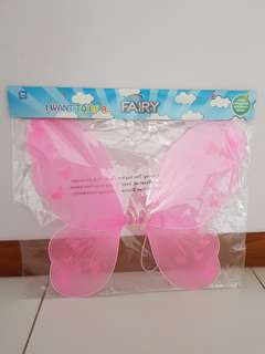 Brand New Fairy Glitter Wings With Elastic Straps