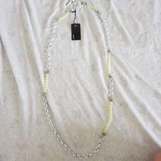 Mimco beatbox lariat necklace