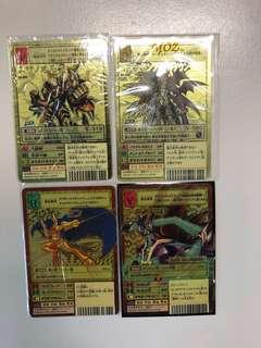 數碼暴龍卡 Digimon Card Bo-864 Bo-968 Bx-12 Bx-125 不平賣自出價