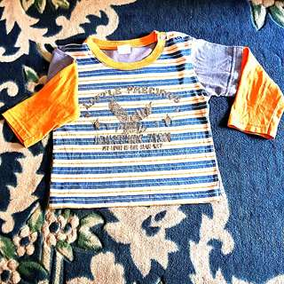 Long sleeve 2-3 yrs