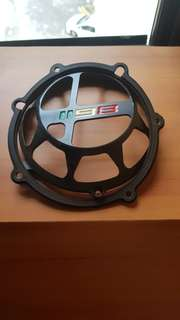 Ducati parts (clutch cover/seat/rear set/ brake lever)