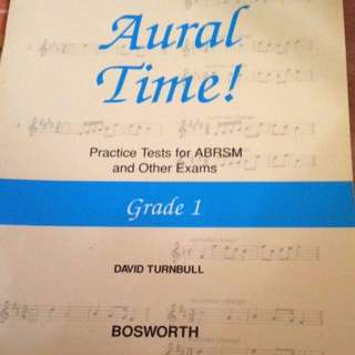 Free mail! Brand new Aural Practice Book