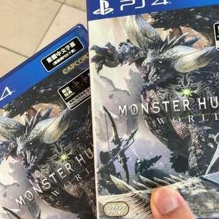 Ps4 Monster hunter 連code