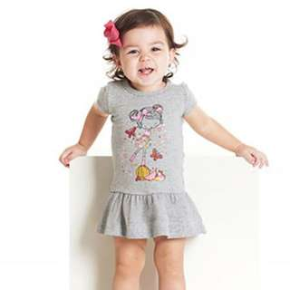 [INSTOCK] GREY CARTOON DRESS
