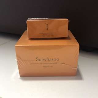Sulwhasoo Concentrated Ginseng Renewing Cream Ex Full size bottle + travel size