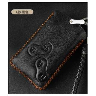 Renault Type A Car Key Leather Pouch