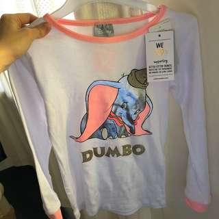 Girl's dumbo longsleeves