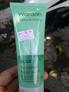 Facial foam wardah