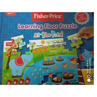 Fisher-Price Learning Floor Puzzles: At the Pond