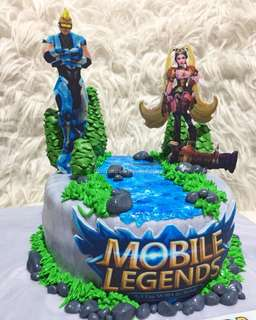 """Mobile Legends 6"""" (Red Velvet)"""