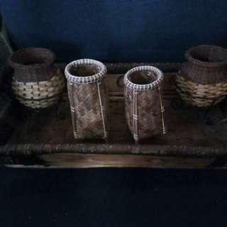 Handmade Rotan(cane) basket