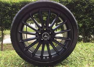 19in PCD 5-112 Original AMG Rims & Michelin PS4S Tyres On Sale