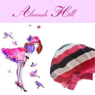Alannah Hill Scarf & Beret Free Express Post