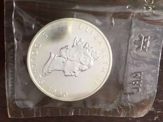 Fine silver 1 oz Argent Pur (Maple Leaf coin)