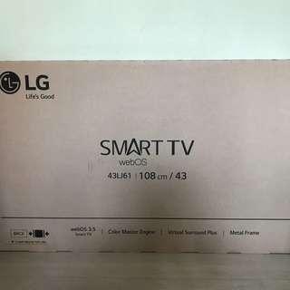 全新 LG 43吋 Smart TV