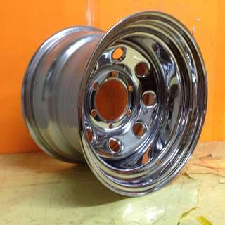 15inch SPORT RIM 4x4 BESI 10JJ SUPER CHROME WHEELS