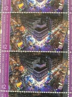 2018 香港之夜 II 版票 $ 2 x 25 枚 Hong Kong Post 香港郵政