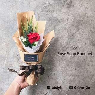 S2_Rose Soap Bouquet