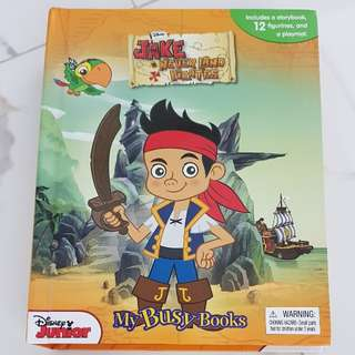 Jack & The Neverland Pirates Busy Book