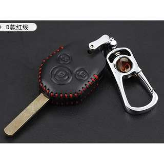 Subaru  Type D Car Key Leather Pouch