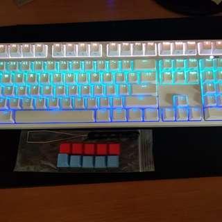IKBC F108 white RGB keyboard (cherry mx black switches)
