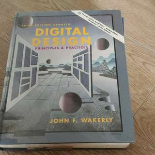 Digital Design Principles & Practices by John F. Wakerly Third Edition Updated