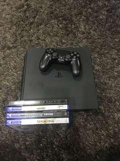 WTS -Used PS4 slim 500GB black