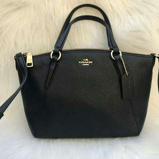 Coach Mini Kelsey in Black