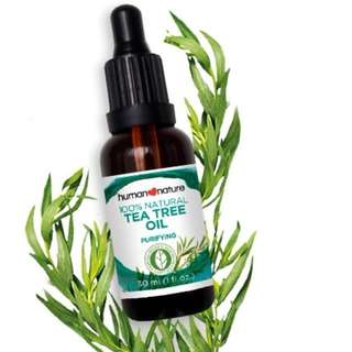 Human Nature Tea Tree Oil