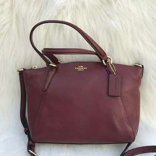 Coach Mini Kelsey in Crimson