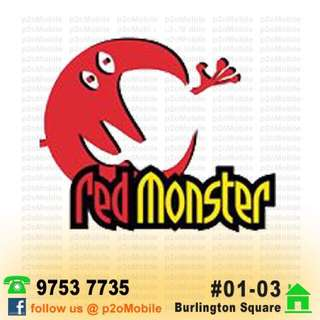 Red Monster Power Bank