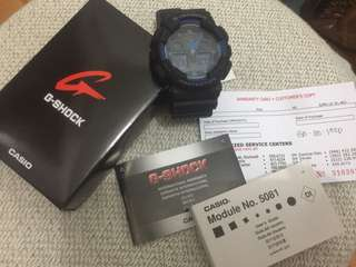 Authentic G-Shock GA-100-1A2DR (Brand New)