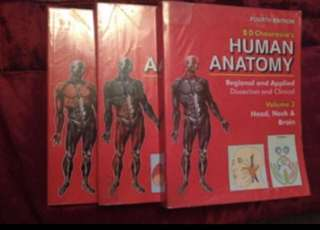 Chaurasia's Human Anatomy Textbook 📚