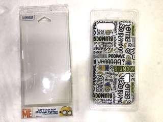 [pm出價]全新 Minions 迷你兵 黃色 手機殼 iPhone 7s plus