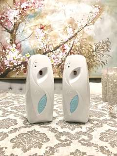 2 Air wick automatic air freshener scent dispenser