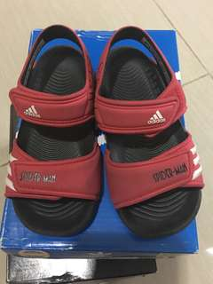 Original Adidas Akwah 9 Sandals Spider Man