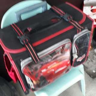 Cars Trolley School Bag