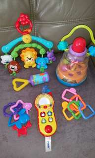 SET Mix Toys for Baby