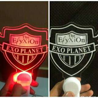 Kpop Lightstick exo elyxion head logo besar