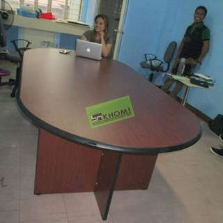 L240C SERIES OVAL conference desk 8-10 SEATER--KHOMI
