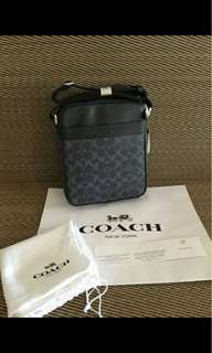 AUTHENTIC F71764 COACH MENS CROSSBODY BAG