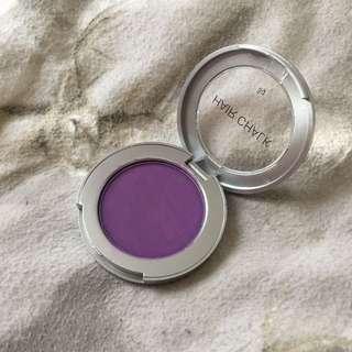 Purple hair chalk