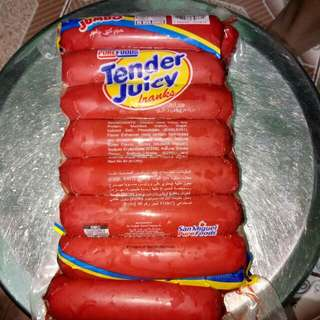 Tender Juicy Hotdogs