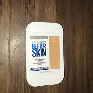 Maybelline Superstay Better Skin Foundation Rich Tan