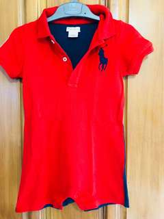 Preloved Ralph Lauren Onesie