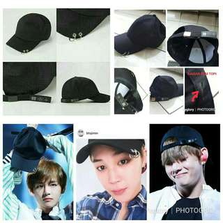 Kpop topi baseball bts wings tour