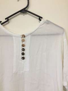 White top: Size S